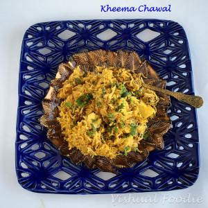 Kheema Chawal